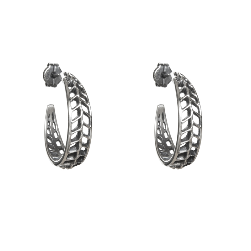 buy kiara earrings silver sterling jewellery by large