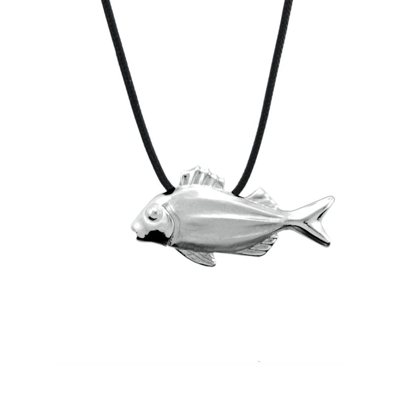 Fish Pendant Silver