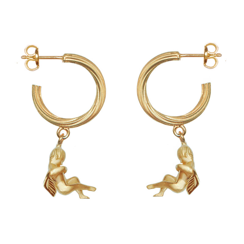 Cupid Hoop 18K Gold