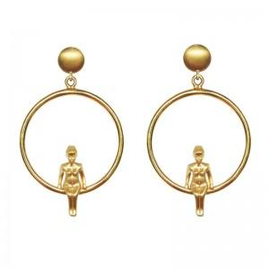 Venus Earrings 18K Gold