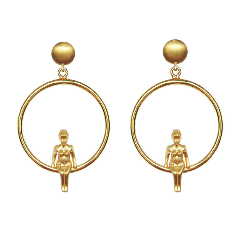 Venus Earrings 18K Gold